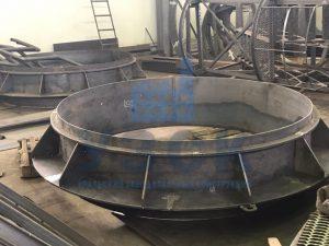 Клапан типа ПГВУ по чертежу заказчика в Киргизии