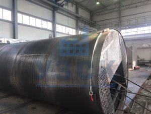 Резервуар РВС стальной вертикальный 400 кубов в Киргизии