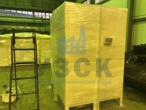 Упаковка продукции для АЭС в Киргизии