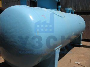 Резервуар РГС, емкость для газового конденсата с сферическими днищами в Киргизии