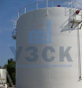 Резервуар вертикальный стальной 10000 кубов в Киргизии