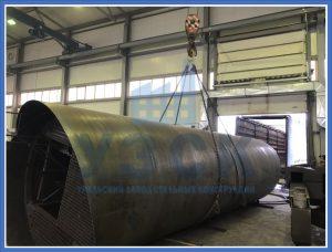 Резервуар РВС стальной в Киргизии