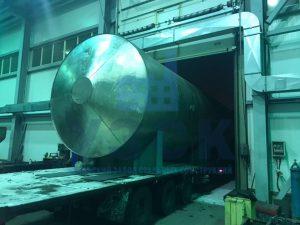 Резервуары РГС 50 м3 в Киргизии
