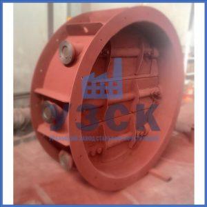 Клапан КЛК с МЭОФ трёхосный Ду 800,Ду 1000, Ду 1400 в Киргизии