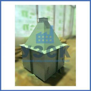 Купить бункер пирамидальный к циклонам ЦН в Киргизии